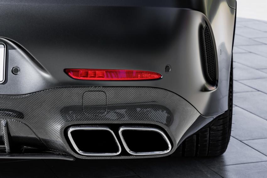 Mercedes-AMG GT Coupe 4-pintu didedahkan – tampil pilihan enjin 4.0L V8 twin turbo, 630 hp/900 Nm Image #787643