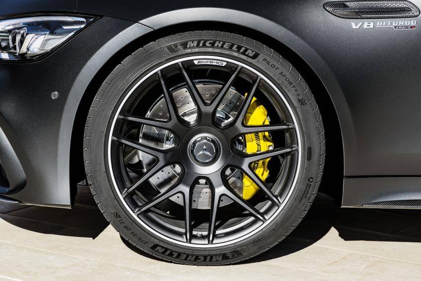 Mercedes-AMG GT Coupe 4-pintu didedahkan – tampil pilihan enjin 4.0L V8 twin turbo, 630 hp/900 Nm Image #787644