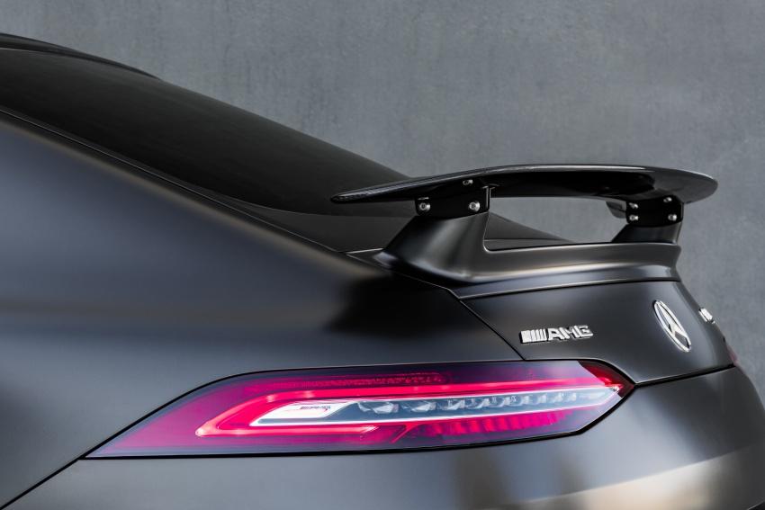 Mercedes-AMG GT Coupe 4-pintu didedahkan – tampil pilihan enjin 4.0L V8 twin turbo, 630 hp/900 Nm Image #787645
