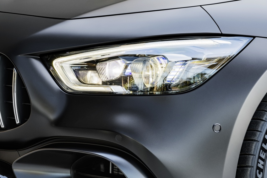 Mercedes-AMG GT Coupe 4-pintu didedahkan – tampil pilihan enjin 4.0L V8 twin turbo, 630 hp/900 Nm Image #787646