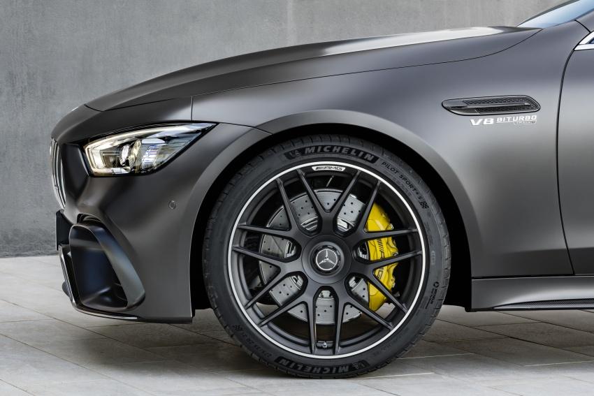 Mercedes-AMG GT Coupe 4-pintu didedahkan – tampil pilihan enjin 4.0L V8 twin turbo, 630 hp/900 Nm Image #787647