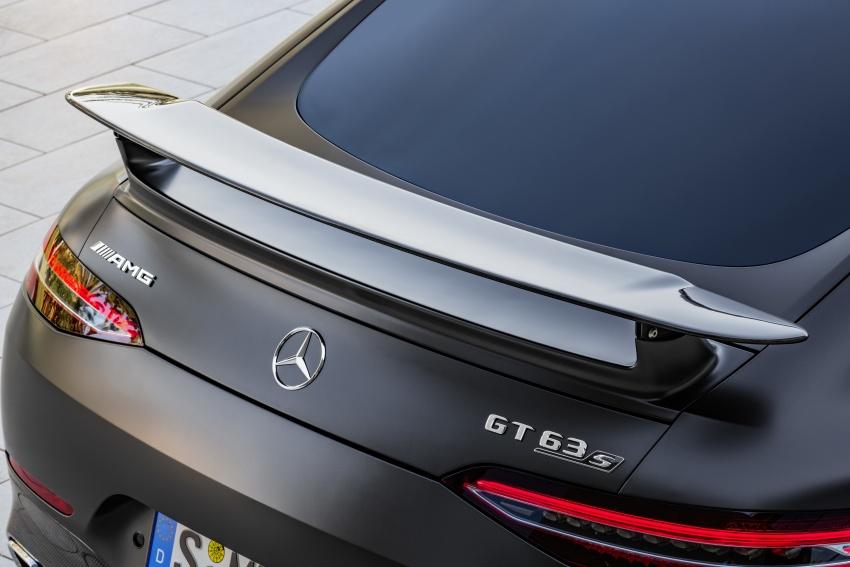 Mercedes-AMG GT Coupe 4-pintu didedahkan – tampil pilihan enjin 4.0L V8 twin turbo, 630 hp/900 Nm Image #787648
