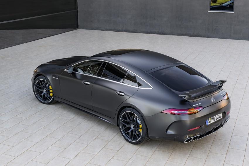 Mercedes-AMG GT Coupe 4-pintu didedahkan – tampil pilihan enjin 4.0L V8 twin turbo, 630 hp/900 Nm Image #787649
