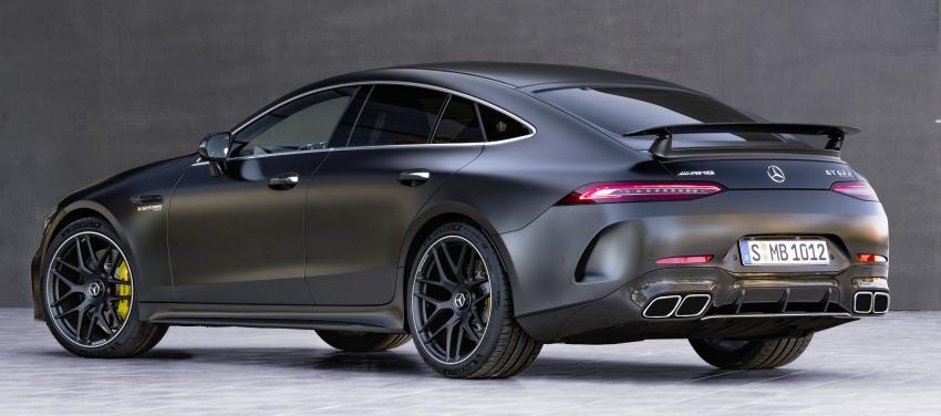 Mercedes-AMG GT Coupe 4-pintu didedahkan – tampil pilihan enjin 4.0L V8 twin turbo, 630 hp/900 Nm Image #787651