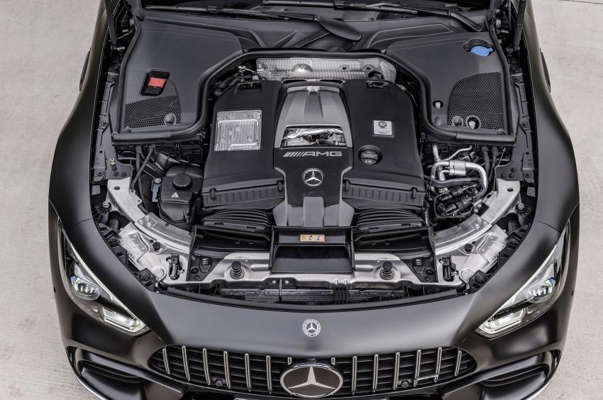 Mercedes-AMG GT Coupe 4-pintu didedahkan – tampil pilihan enjin 4.0L V8 twin turbo, 630 hp/900 Nm Image #787659
