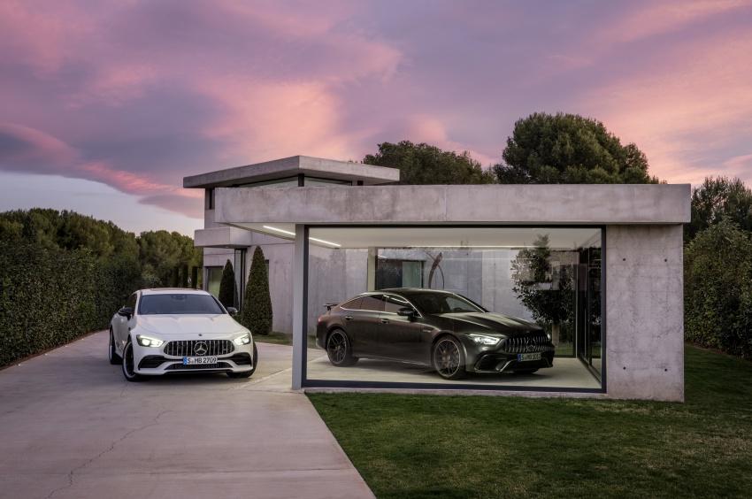 Mercedes-AMG GT Coupe 4-pintu didedahkan – tampil pilihan enjin 4.0L V8 twin turbo, 630 hp/900 Nm Image #787663