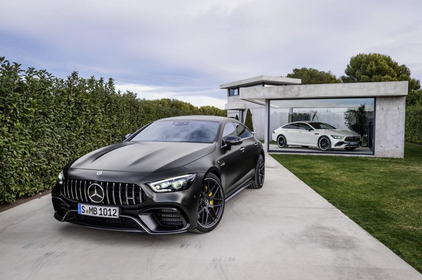 Mercedes-AMG GT Coupe 4-pintu didedahkan – tampil pilihan enjin 4.0L V8 twin turbo, 630 hp/900 Nm Image #787664