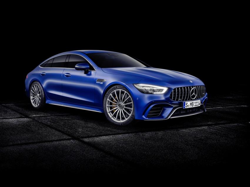 Mercedes-AMG GT Coupe 4-pintu didedahkan – tampil pilihan enjin 4.0L V8 twin turbo, 630 hp/900 Nm Image #787666
