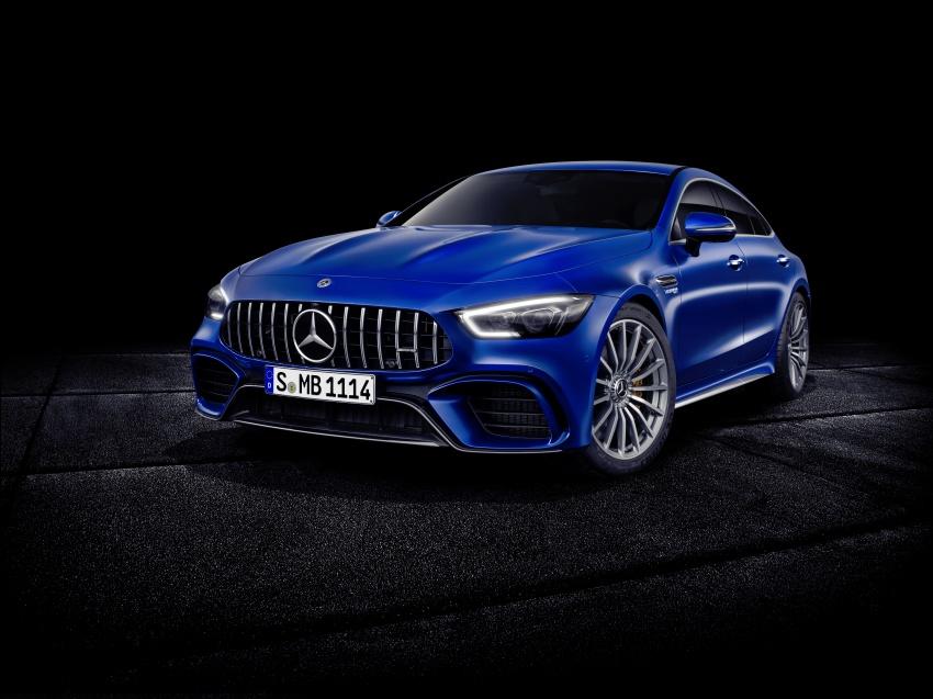 Mercedes-AMG GT Coupe 4-pintu didedahkan – tampil pilihan enjin 4.0L V8 twin turbo, 630 hp/900 Nm Image #787667