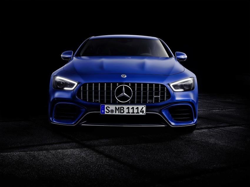 Mercedes-AMG GT Coupe 4-pintu didedahkan – tampil pilihan enjin 4.0L V8 twin turbo, 630 hp/900 Nm Image #787668