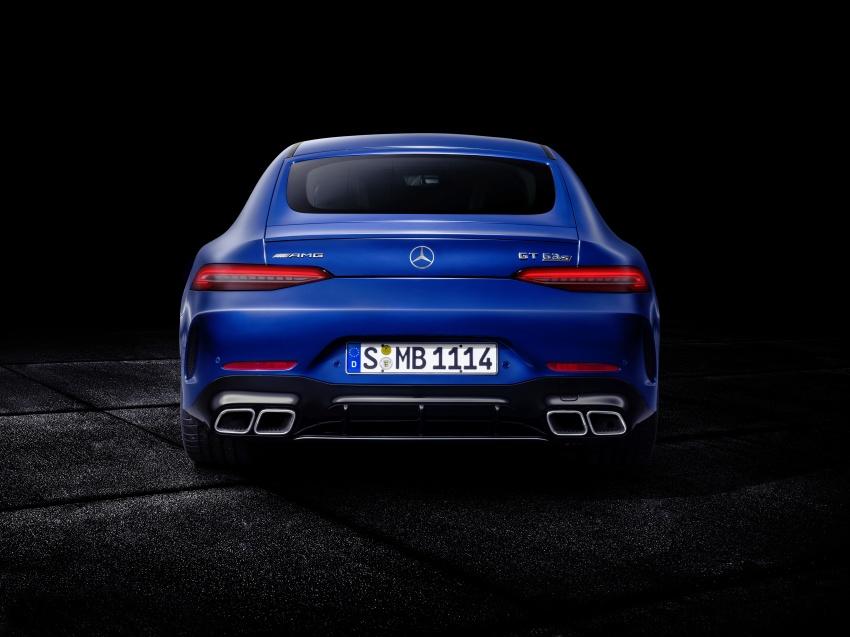 Mercedes-AMG GT Coupe 4-pintu didedahkan – tampil pilihan enjin 4.0L V8 twin turbo, 630 hp/900 Nm Image #787669