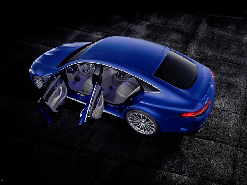Mercedes-AMG GT Coupe 4-pintu didedahkan – tampil pilihan enjin 4.0L V8 twin turbo, 630 hp/900 Nm Image #787671