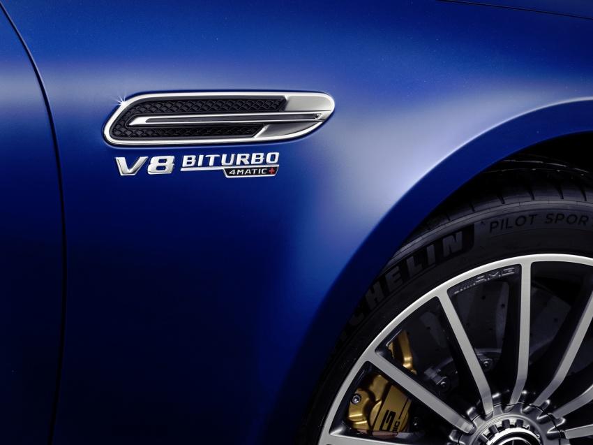 Mercedes-AMG GT Coupe 4-pintu didedahkan – tampil pilihan enjin 4.0L V8 twin turbo, 630 hp/900 Nm Image #787675