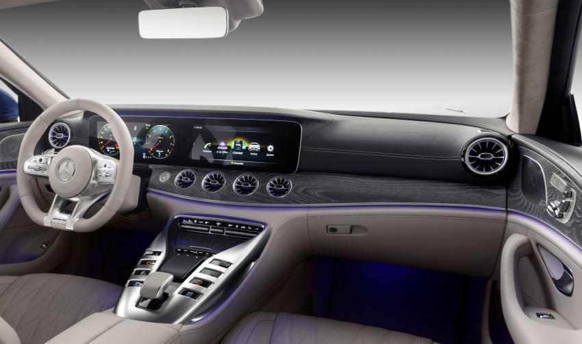 Mercedes-AMG GT Coupe 4-pintu didedahkan – tampil pilihan enjin 4.0L V8 twin turbo, 630 hp/900 Nm Image #787678