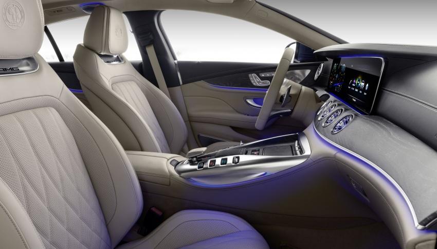 Mercedes-AMG GT Coupe 4-pintu didedahkan – tampil pilihan enjin 4.0L V8 twin turbo, 630 hp/900 Nm Image #787679