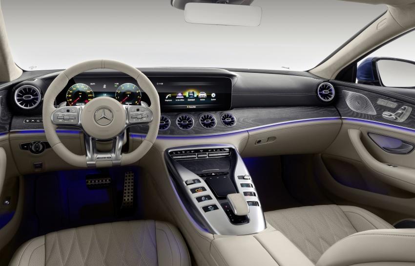 Mercedes-AMG GT Coupe 4-pintu didedahkan – tampil pilihan enjin 4.0L V8 twin turbo, 630 hp/900 Nm Image #787682