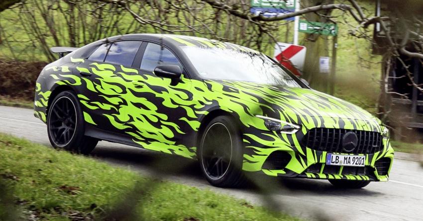 Mercedes-AMG 'GT4' empat-pintu – foto rasmi bocor Image #785831