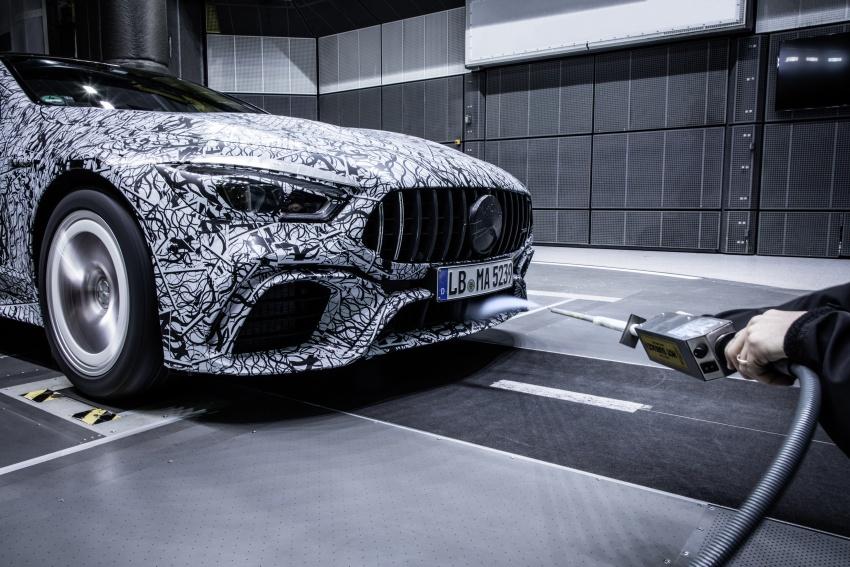 Mercedes-AMG 'GT4' empat-pintu – foto rasmi bocor Image #785834