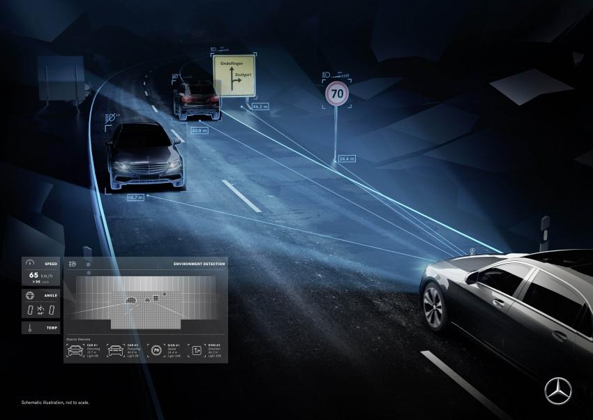 Mercedes-Benz Digital Light system makes its debut Image #786578