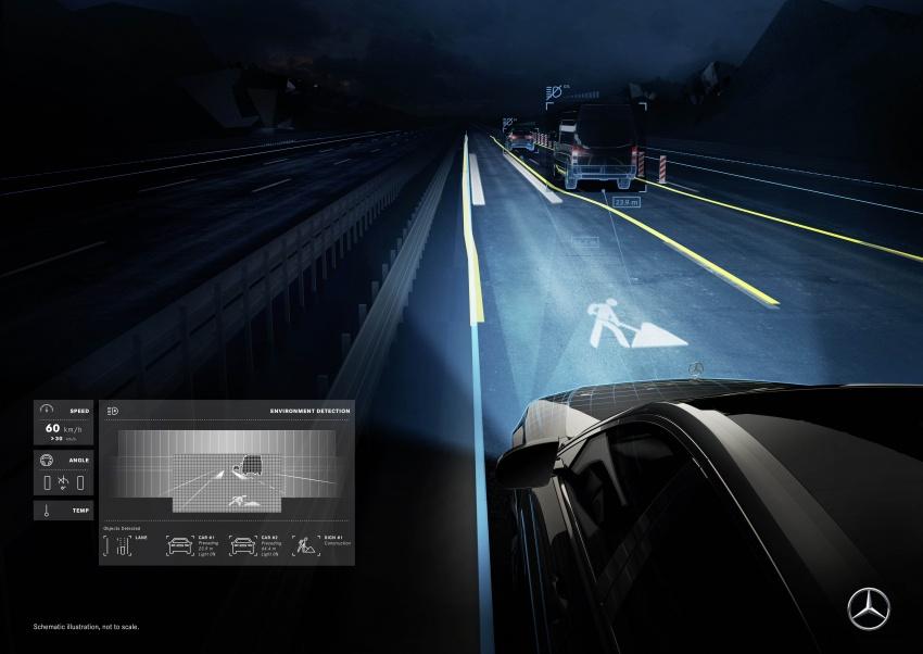 Mercedes-Benz Digital Light system makes its debut Image #786579