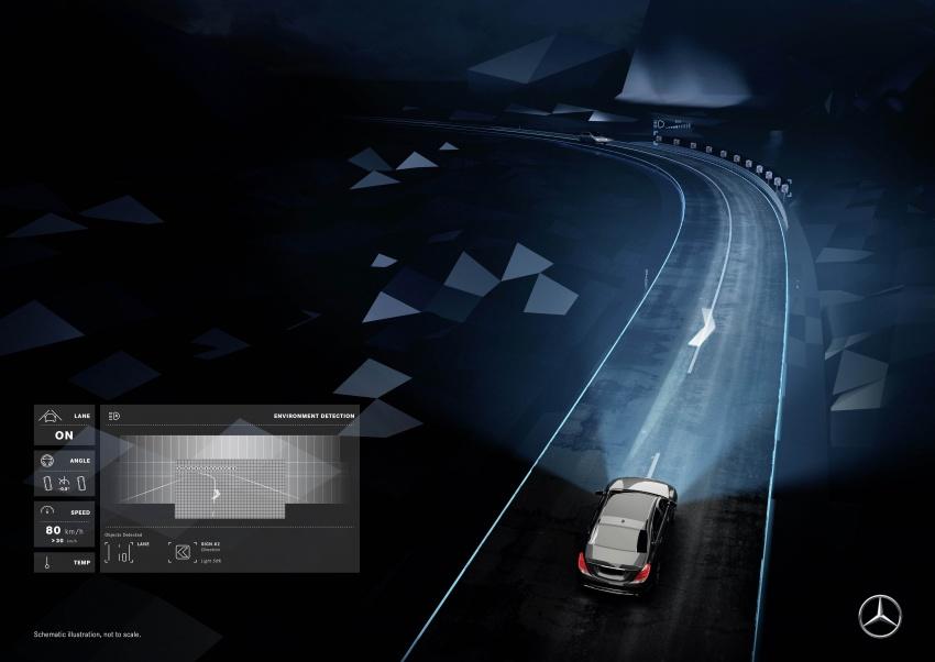 Mercedes-Benz Digital Light system makes its debut Image #786582