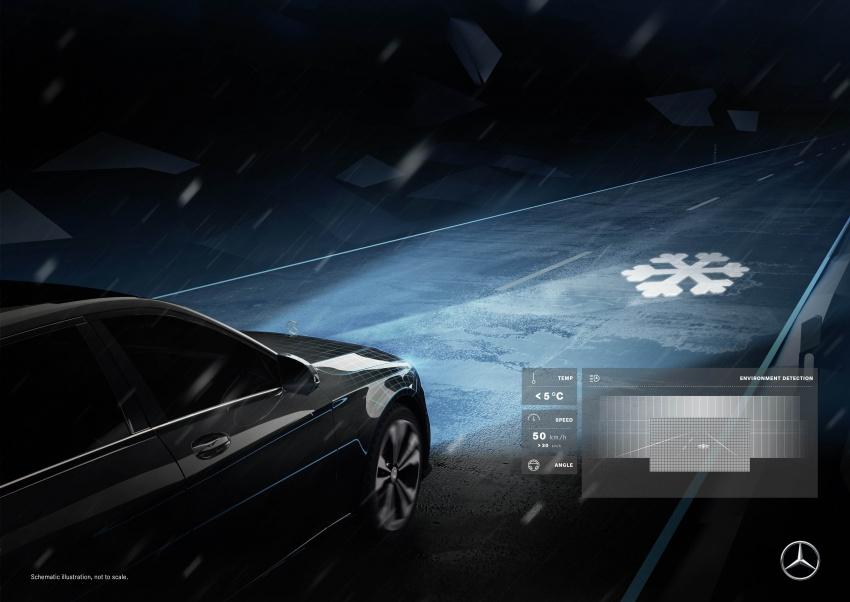 Mercedes-Benz Digital Light system makes its debut Image #786583