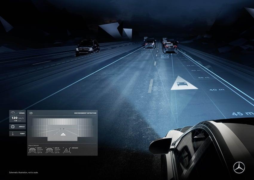 Mercedes-Benz Digital Light system makes its debut Image #786584