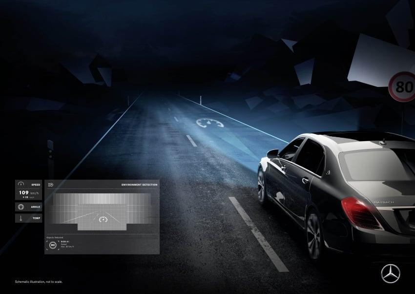 Mercedes-Benz Digital Light system makes its debut Image #786586
