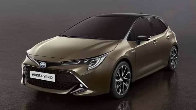 All New Toyota Auris Corolla Hatchback Image Leaked