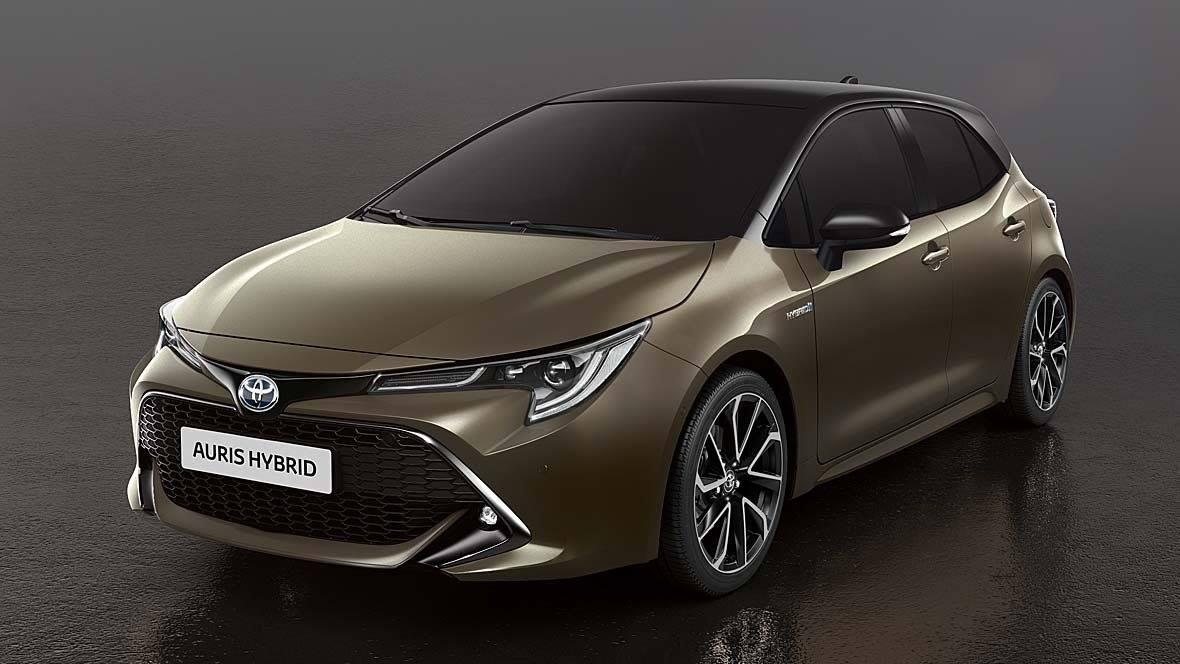 All New Toyota Auris Corolla Hatchback Image Leaked Paul