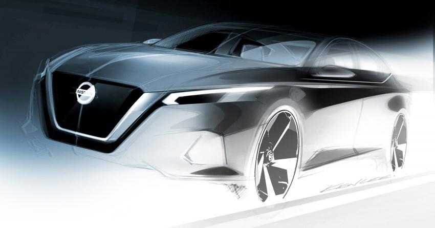 Nissan Altima 2019 – Teana generasi baharu bakal didedahkan di New York Auto Show hujung bulan ini Image #788796