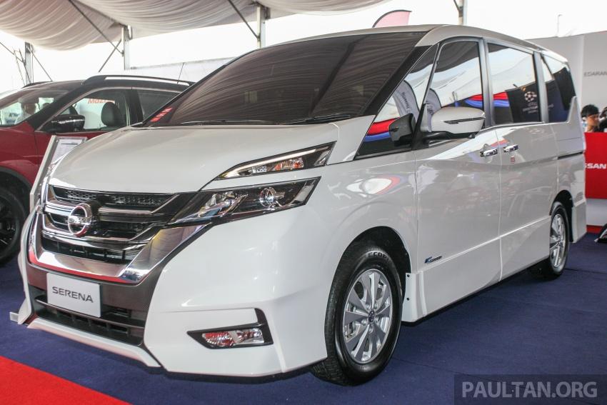 Nissan Serena S-Hybrid – fifth-gen previewed in M'sia Paul ...