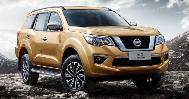 Nissan Terra set to go on sale in China on April 12