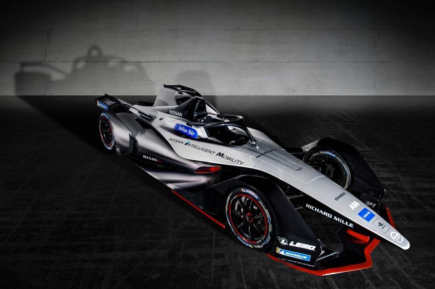Nissan unveils Formula E livery for 2018/2019 season Image #787732