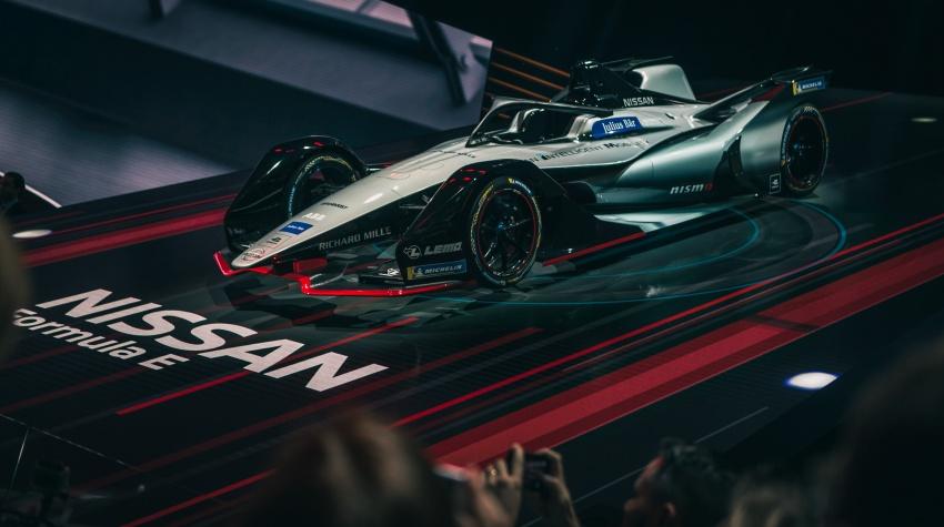 Nissan unveils Formula E livery for 2018/2019 season Image #787743