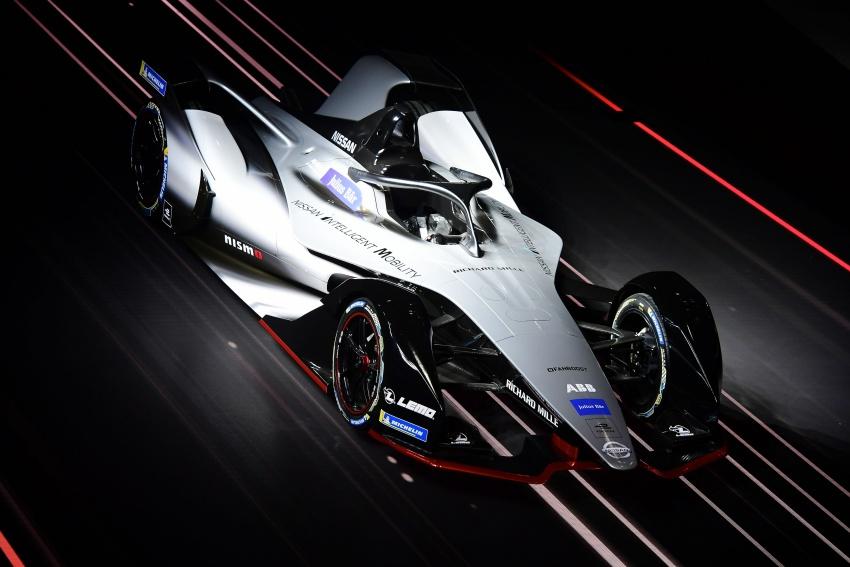 Nissan unveils Formula E livery for 2018/2019 season Image #787746