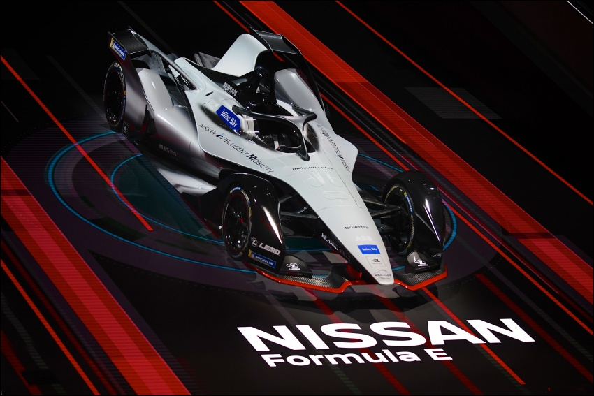 Nissan unveils Formula E livery for 2018/2019 season Image #787710