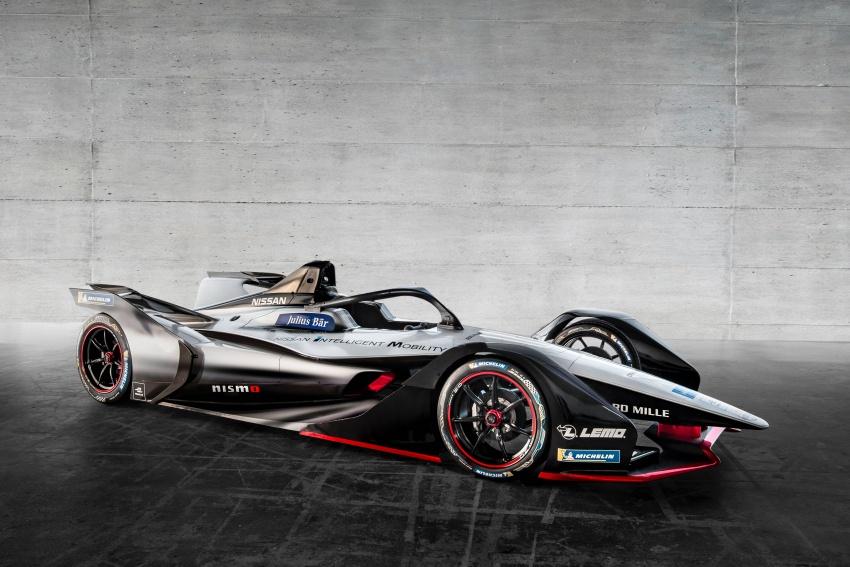 Nissan unveils Formula E livery for 2018/2019 season Image #787712