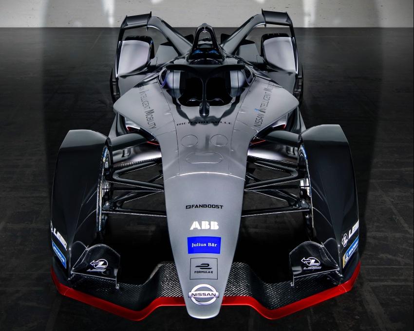 Nissan unveils Formula E livery for 2018/2019 season Image #787716