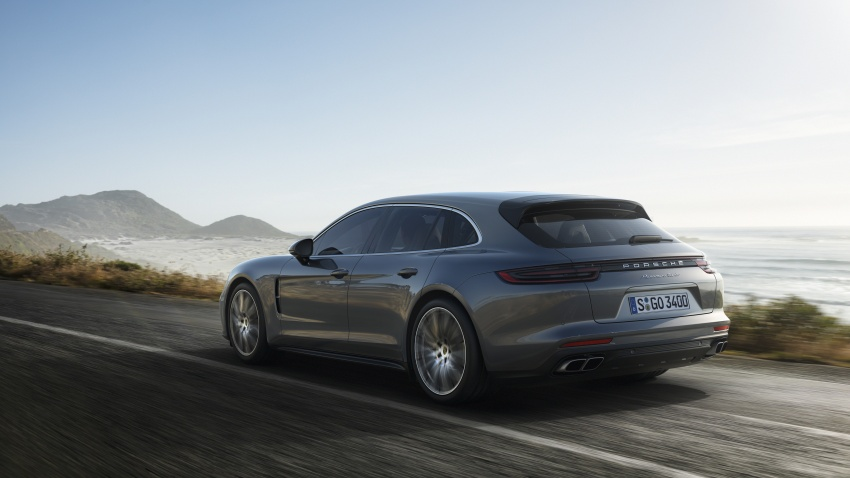 Porsche Panamera Sport Turismo – wagon mewah kini diperkenalkan secara rasmi di M'sia dengan 3 varian Image #797627