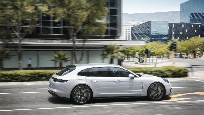 Porsche Panamera Sport Turismo – wagon mewah kini diperkenalkan secara rasmi di M'sia dengan 3 varian Image #797562