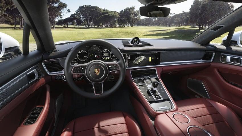 Porsche Panamera Sport Turismo – wagon mewah kini diperkenalkan secara rasmi di M'sia dengan 3 varian Image #797563