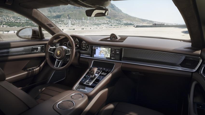 Porsche Panamera Sport Turismo – wagon mewah kini diperkenalkan secara rasmi di M'sia dengan 3 varian Image #797628