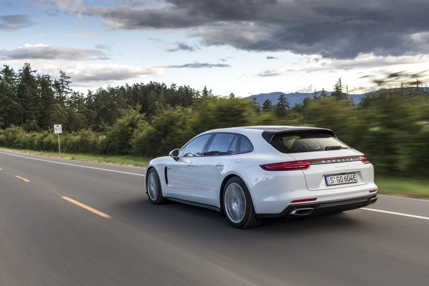 Porsche Panamera Sport Turismo – wagon mewah kini diperkenalkan secara rasmi di M'sia dengan 3 varian Image #797566