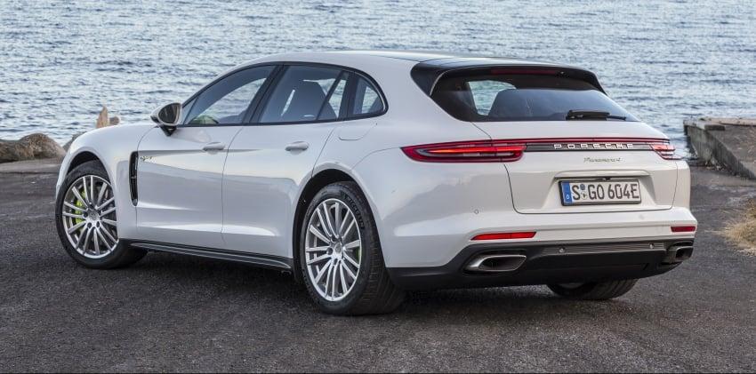 Porsche Panamera Sport Turismo – wagon mewah kini diperkenalkan secara rasmi di M'sia dengan 3 varian Image #797573