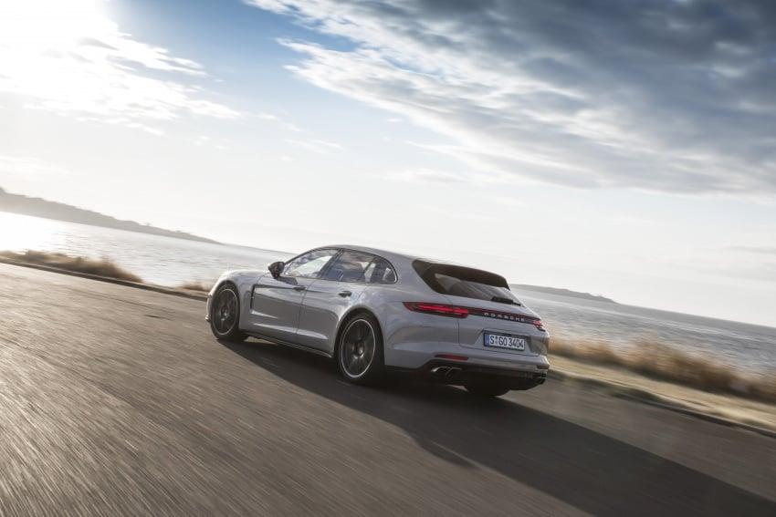 Porsche Panamera Sport Turismo – wagon mewah kini diperkenalkan secara rasmi di M'sia dengan 3 varian Image #797635