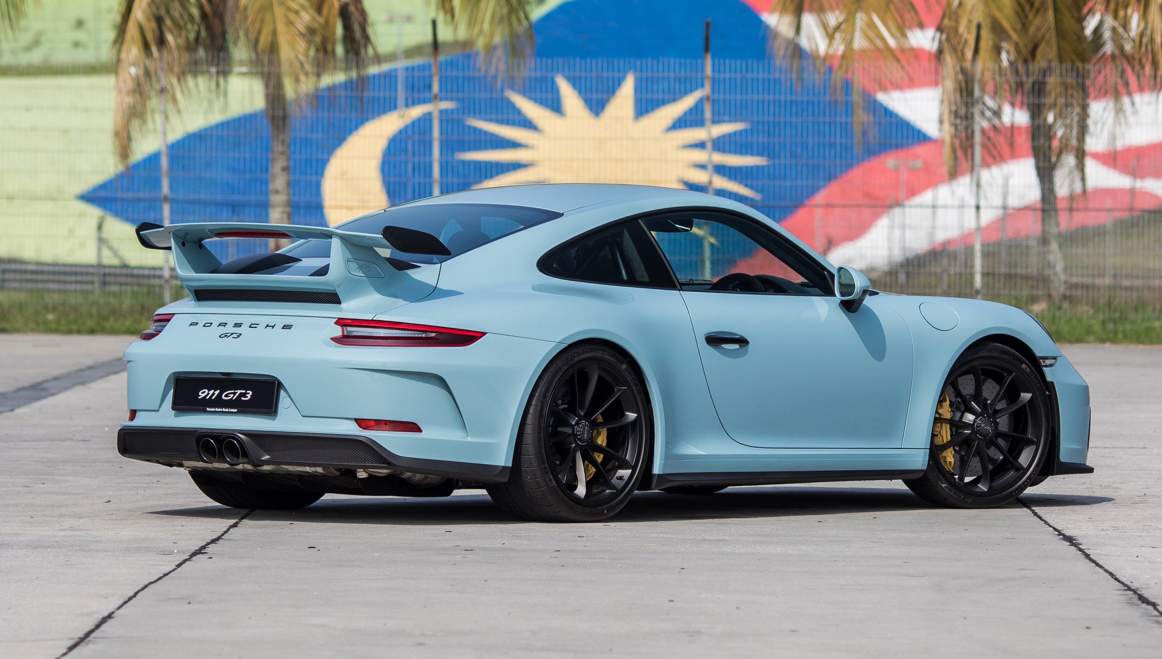 Porsche 911 Gt3 Meissen Blue 5 Paul Tan S Automotive News