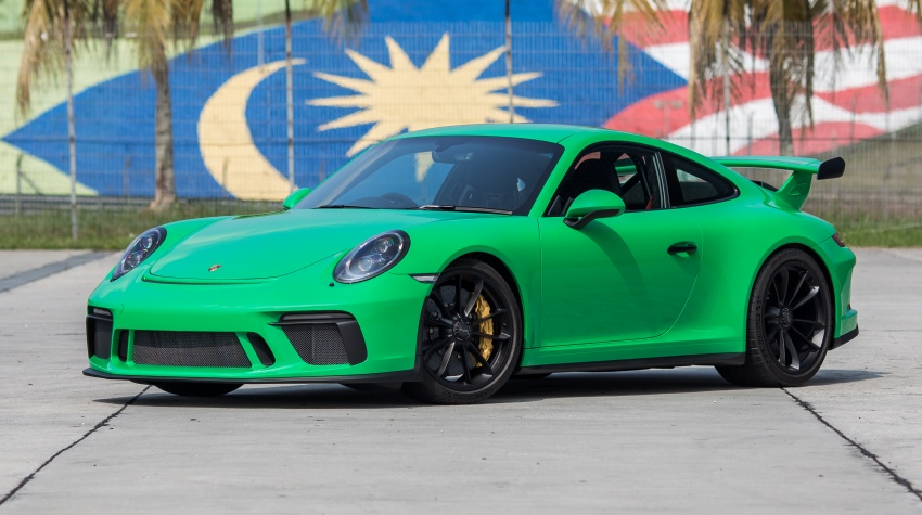 Porsche 911 GT3 – three bespoke units for Malaysia Image #797106