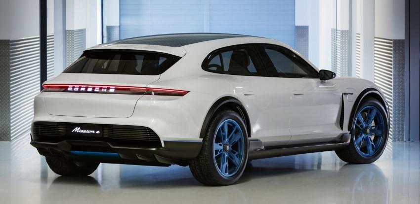 Porsche Mission E Cross Turismo Concept – EV gaya seperti Panamera Sport Turismo,  tetapi lebih tinggi Image #787948