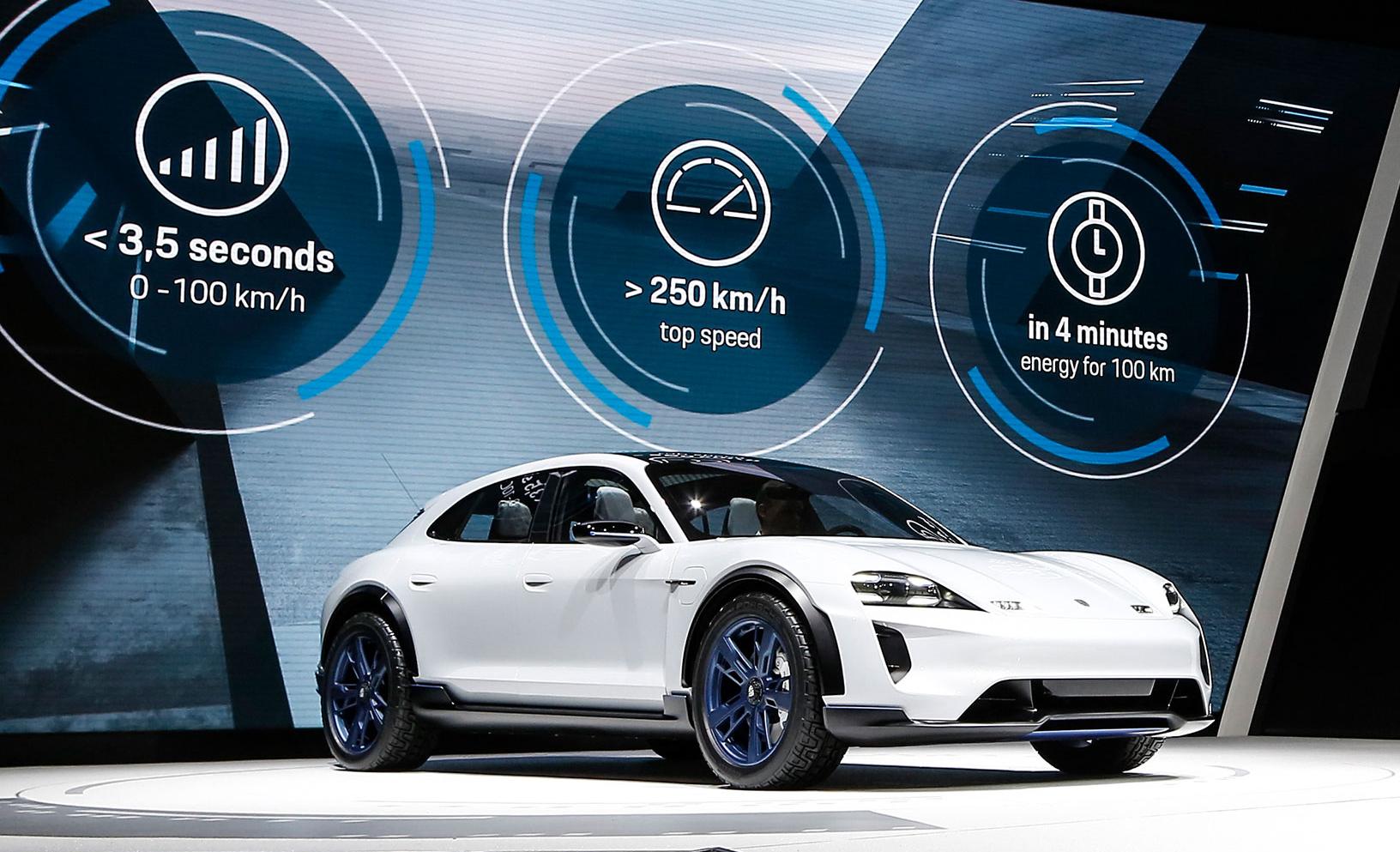 Porsche Mission E Cross Turismo Concept Ev Gaya Seperti